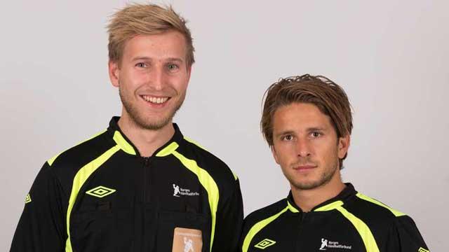 Erik Abrahamsen og Mads Myhrstad