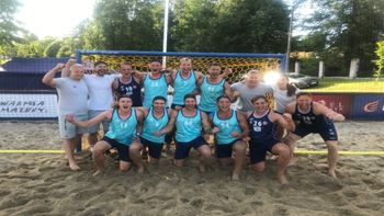 Historisk semifinale for beachgutta
