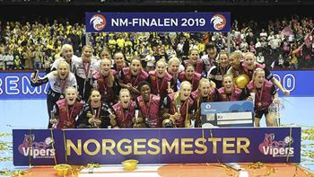 Vipers Kristiansand er Norgesmestere