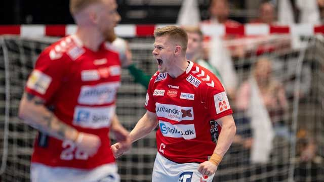 Sebastian Barthold scoret seks mål da Aalborg ble sluttspillmester i Danmark.