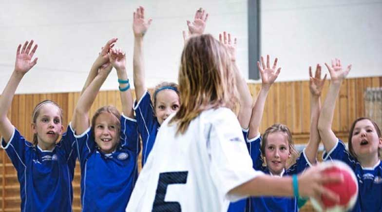 håndball trening