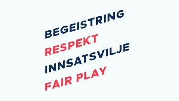 Fair Play - en av verdiene til NHF